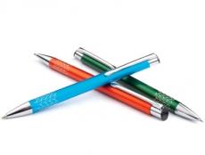 10 Kugelschreiber Rey Aluminium mit Logo gravieren lassen. NEUHEIT 2020