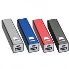 100 Powerbanks mit 2200mAh mit Logo oder Wunschtext gravieren Model (Power Banks)