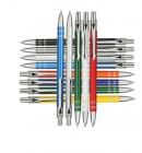 Kugelschreiber aus Aluminium der Serie Bond 100 Stück - inkl. Gravur