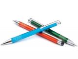 1 Kugelschreiber Rey Aluminium mit Logo gravieren lassen. NEUHEIT 2020