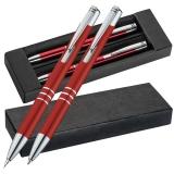 Aluminiumkugelschreiber Set Kugelschreiber und Druckbleistift mit Logo oder Wunschtext graviert